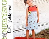 Racerback Tank Top or Dress PDF eBook Pattern INSTANT DOWNLOAD