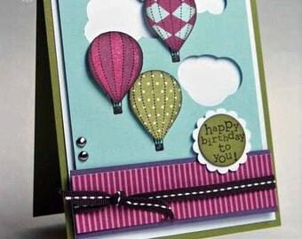 Greeting Card Birthday- Beauteous Balloons