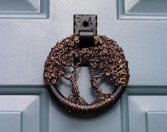 Tree of Life Door Knocker Rustic  Home decor