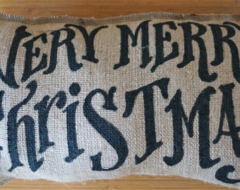 Quincy Pillow - Very Merry Christmas