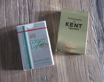 2 Packs of Cigarette Playing Cards
