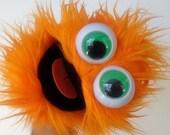 mini gumball monster - orange