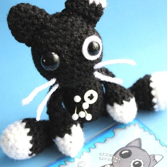 Oreo the Amigurumi Voodoo Cat