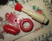 Vintage Bubble Gum Trinket Lot