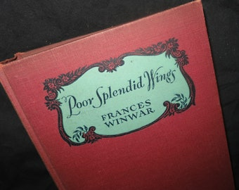 1933 Poor Splendid Wings Book