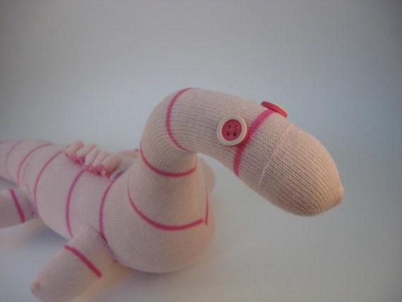 Patty Plesiosaur - sock dinosaur