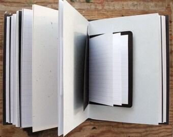 If Found Do Not Open - Art Journal - 6.5 x 9 inch - Mixed Paper Journal - Travel Journal