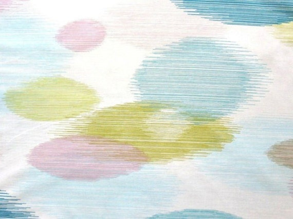 Sea Glass - IKEA Malin Cirkel Cotton Fabric