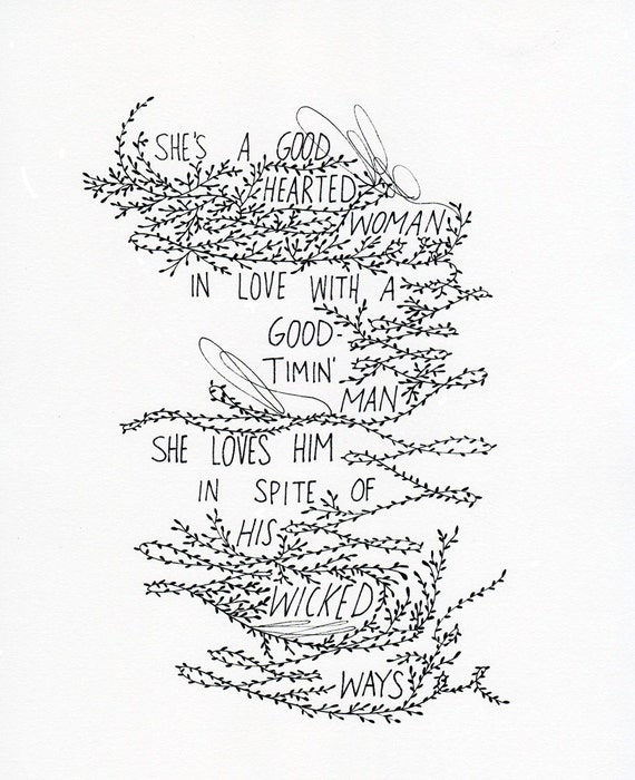 custom hand lettering hand drawn illustration, custom quotes, names, messages