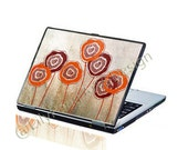 Red Poppies Laptop Decal Skin