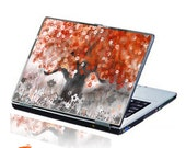 Red Tree Laptop Decal Skin