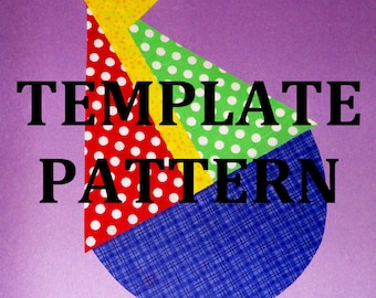 Applique PDF TEMPLATE Pattern Only...CHUBBY Sailboat...New...2 Sizes