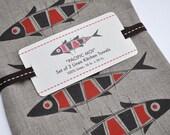 LINEN KITCHEN TOWELS - Pacific Moi