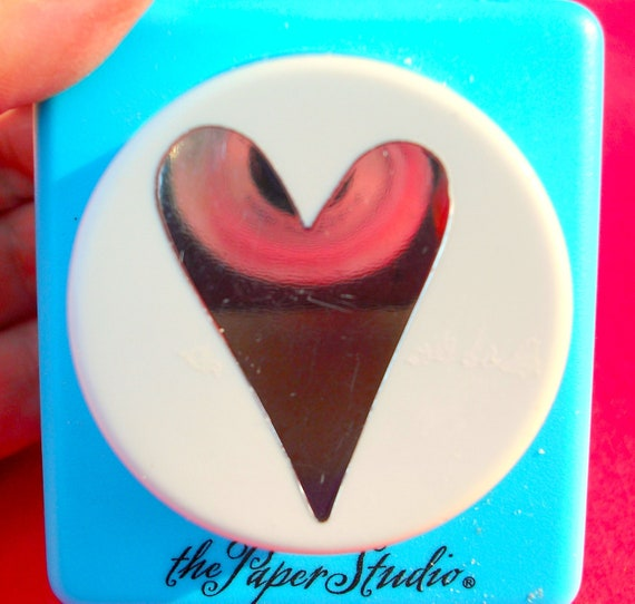 Funky Heart Paper Punch by Paper Studio Scrapbooking and Card Making ...