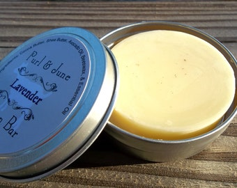 Lavender All Natural Solid Lotion Bar