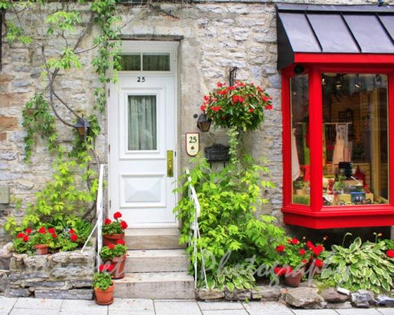 White door photography old quebec city photos vieux quebec for Home decor quebec