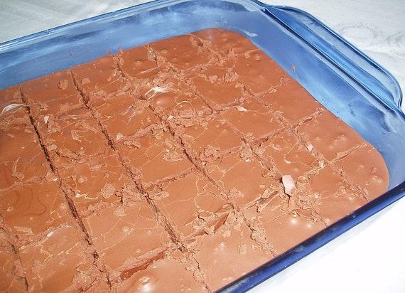 1lb Chocolate Fudge w/Walnuts  gluten and wheat free