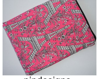 """Eiffel Tower Kindle Fire 6 HD Touch 6"""" Wi-Fi Paperwhite Nook Simple Touch Case Cover Sleeve"""