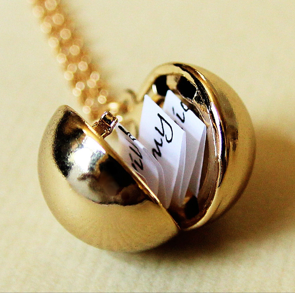 Shiny Gold Secret Message Locket Gold Ball Locket Necklace. Beryl Rings. Yellow Gold Stud Earrings. Husband And Wife Bands. Diamond Bangles. Man Engagement Rings. Award Rings. Real Rings. Anklets For Girls