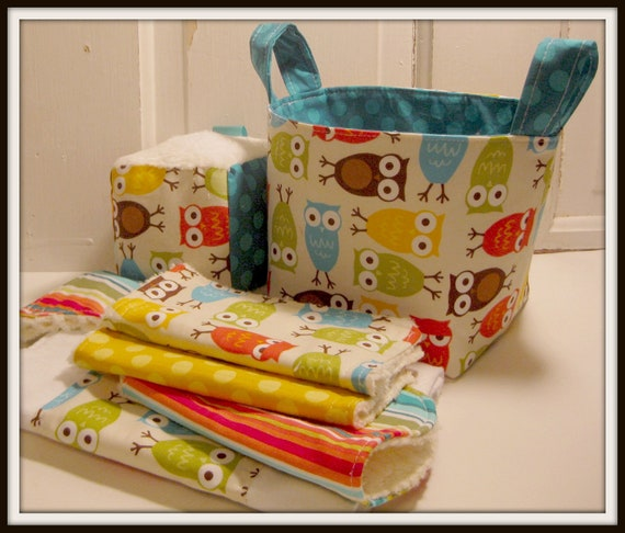 Baby Gift Basket Etsy : Items similar to i m a hoot in brown baby gift basket