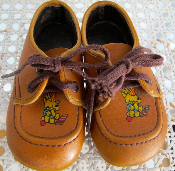 Vintage Teddy Bear Shoes