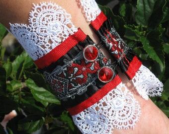 Love Bite Ribbon Cuff Bracelet