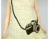 LADYBIRD HOUSE Blythe Outfit Embroidery Camera Dress