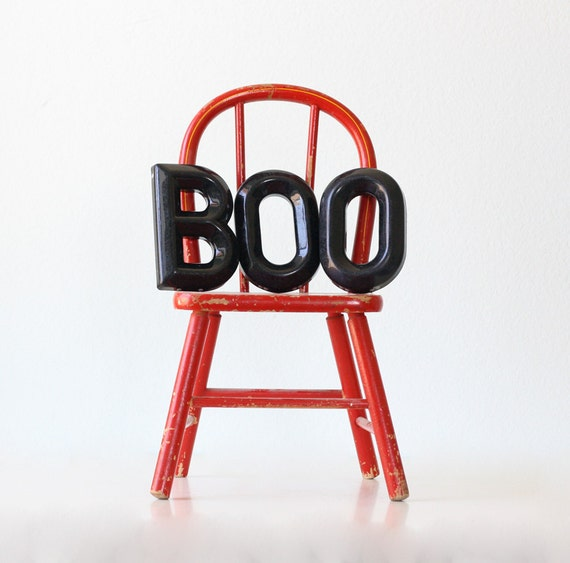 Vintage BOO Letters