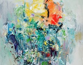 Art Print, Abstract Painting, Oil Painting, Fine Art Print , Giclee Print , Wall Art , Wall Décor , Spring Print 11x14 12x15 16x20 20x25