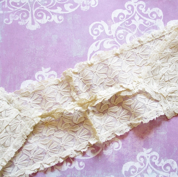 Mysterious Beauty...Wonderful Old Lace & Bows Accessory