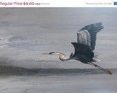 ON SALE Great Blue Heron Greeting Card
