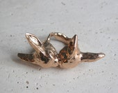 Bunny Love Ring in Rose Gold