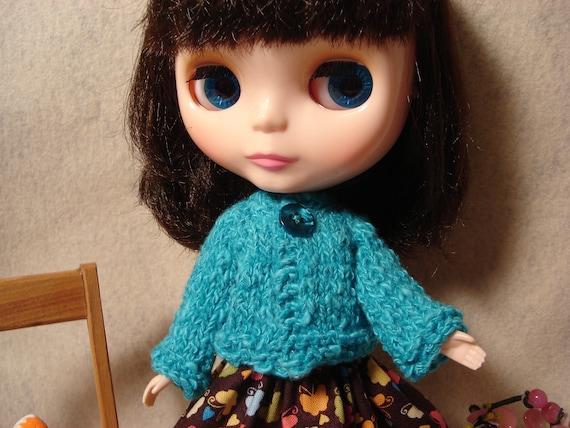 Blythe Turquoise Sweater Jacket