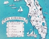 RESERVED - Florida and England Maps