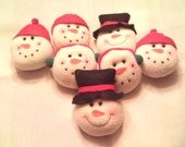 Who loves snowmen, Christmas Snowman Wreath...Snowmen