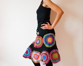 Knee Length Gypsy Circle Skirt - RESERVED - FINAL PAYMENT