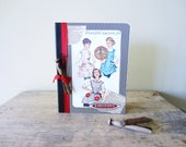 Vintage Recipe Notebook Journal or Gift Book