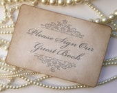 Wedding Sign, Guest Book Sign Grey, Please sign the guest book, Cards Sign, Wedding Table Numbers