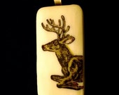 Leaping Deer Pendant SPECIAL