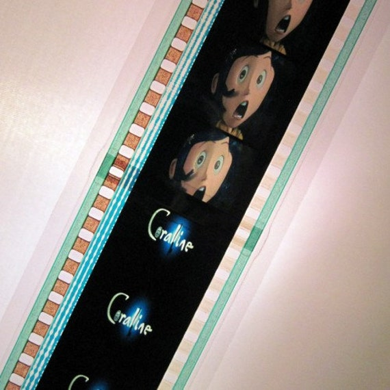 Coraline Recycled Bookmark