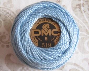 DMC Pearl Cotton Balls Size 5 - 519 Sky Blue