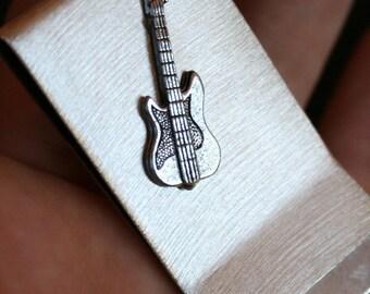 Money / Card Clip - Electric Guitar, Large