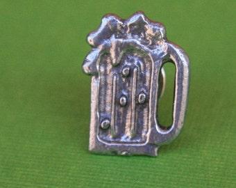 Tie Tack - Lapel Pin - Beer Mug