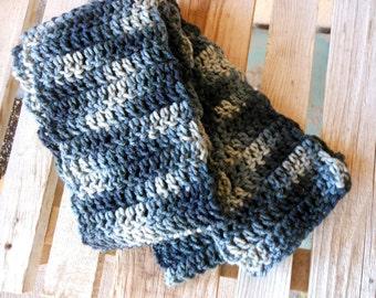 Urban Graffiti - Handmade crocheted scarf