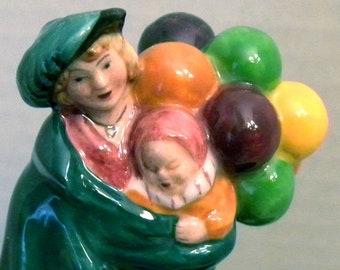 Royal Doulton Mini Figurine - The Balloon Seller HN 2130