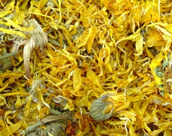 Dried Calendula Flowers - 1 pound
