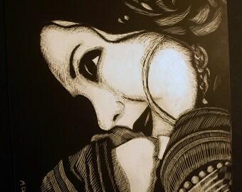 Rachel Brice Portrait - Original