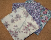 Liberty Tana Lawn Cotton Fabric - Mini Craft Pack: Purple Haze