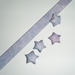 Origami Lucky Star Strips  - Purple Watercolor Pack of 25
