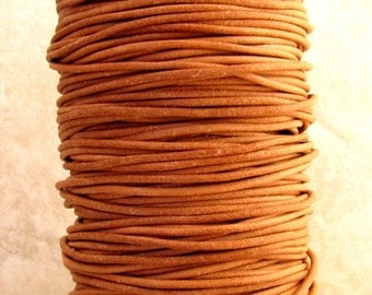Greek Leather Cord, Natural, 2-MM, 12-feet  M129